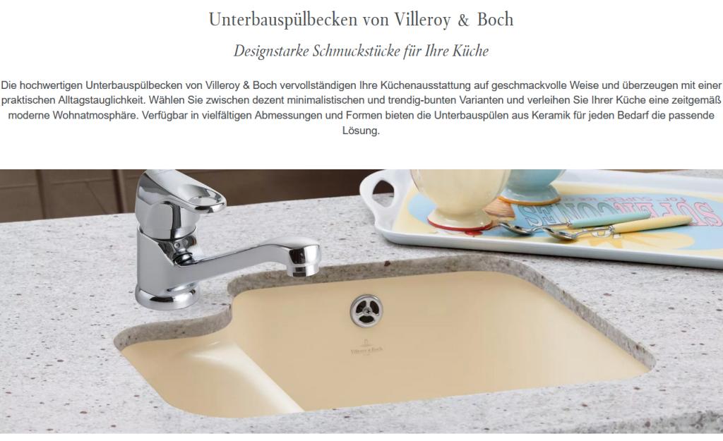 Villeroy Boch Cisterna 50 Ub Classicline Unterbauspule Keramikspule In 9 Standard Farben 650157