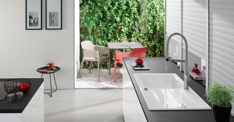Spülbecken keramik rund  Keramikspüle kaufen » Top Marken | Spülenshop24