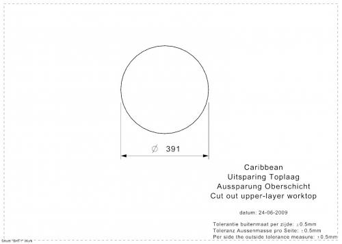 REGINOX Aqua-Line Caribbean Einbaubecken 3 in 1 Edelstahl Waschbecken mit Flachrand