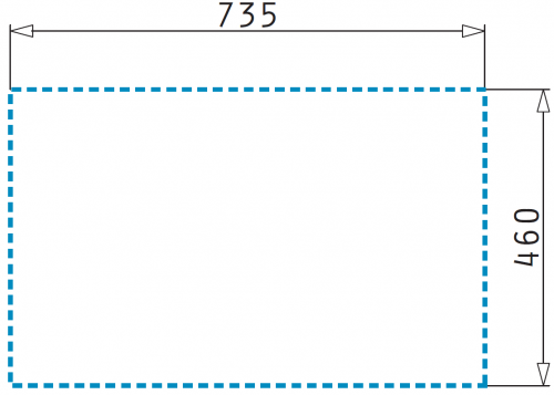 Pyramis Küchenspüle Creta 1B 1D Flat Einbauspüle / Edelstahlspüle Ablauf mit Stopfenventil ohne Hahnlochbohrung