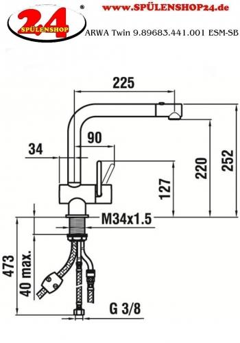 ARWA Twin 9.89683.441.001 ESM-SB