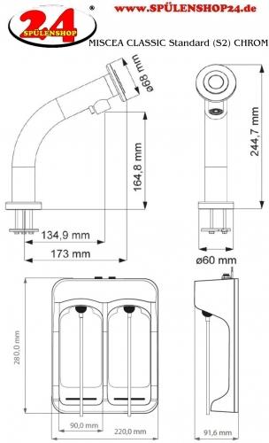 MISCEA Classic Standard (S2) chrom
