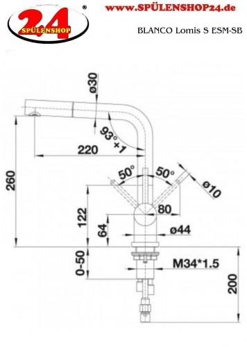 blancolomis s 518716 g nstig online armaturen kaufen. Black Bedroom Furniture Sets. Home Design Ideas