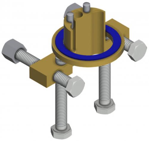 FRANKE Verdrehsicherung ACXX1001 für die Armaturen Serien F5S und F5E