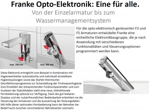 FRANKE Fernbedienung ACEX9004 2-Tasten-Fernbedienung für F3 und F5 Armaturen