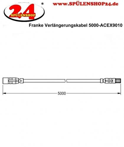 Franke Verlängerungskabel 5 m-ACEX9010 für F5E Elektronik Armaturen