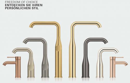 {LAGER} GROHE Küchenarmatur Essence Einhebelmischer Supersteel mit Festauslauf (30269DC0)