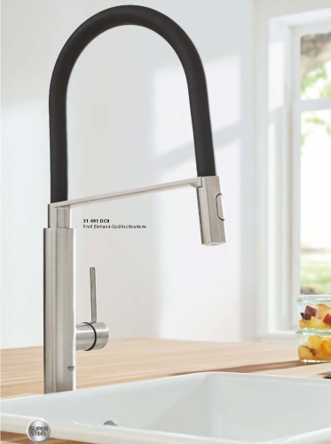 GROHE Concetto Supersteel-SB (31491DC0)