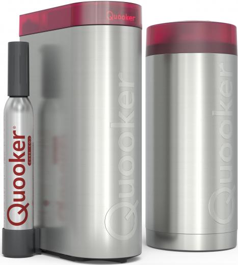 QUOOKER FLEX Zugauslauf Chrom VAQ PRO3 mit CUBE *Der Wasserhahn, der alles kann! (3XCHRCUBE)