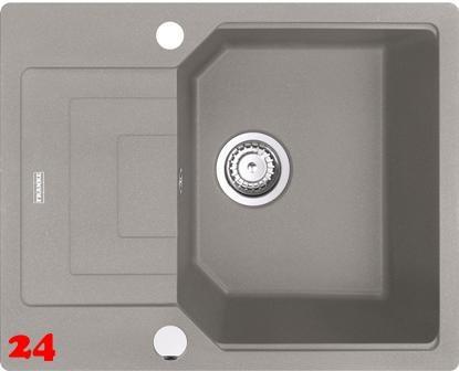 FRANKE Küchenspüle Urban UBG 611-62 Fragranit+ Einbauspüle / Granitspüle Flächenbündig mit Drehknopfventil