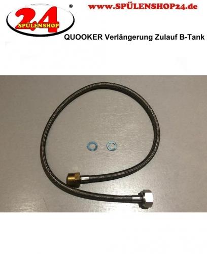 {LAGER} QUOOKER Verlängerung Flex, Fusion, Nordic Zulauf Reservoir (PRO3 B-Tank) 70cm (nur kaltwasserseitig)