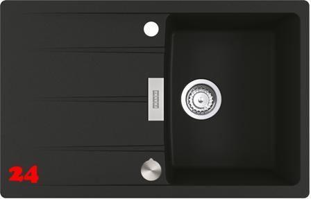 {Lager} FRANKE Küchenspüle Centro CNG 611-78 Fragranit+ Einbauspüle / Granitspüle Flächenbündig mit Drehknopfventil