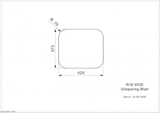 REGINOX Küchenspüle R18 4035 (R) OSK Einbauspüle Edelstahl mit Einbaurand mit Gummistopfen und Kette