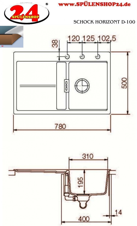 schock horizont d 100 g nstig kaufen i sp lenshop24. Black Bedroom Furniture Sets. Home Design Ideas
