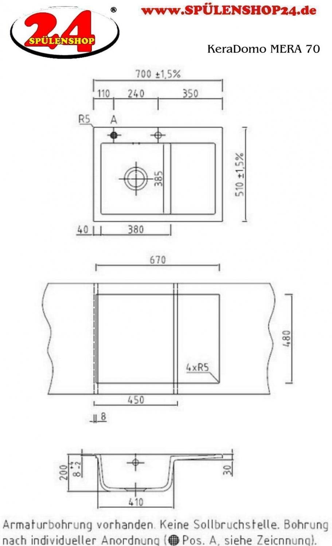 systemceram keradomo mera 70 premium. Black Bedroom Furniture Sets. Home Design Ideas