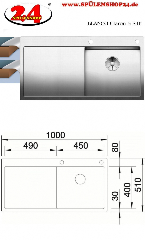 blanco claron 5 s if sp le kaufen sp le online g nstig. Black Bedroom Furniture Sets. Home Design Ideas