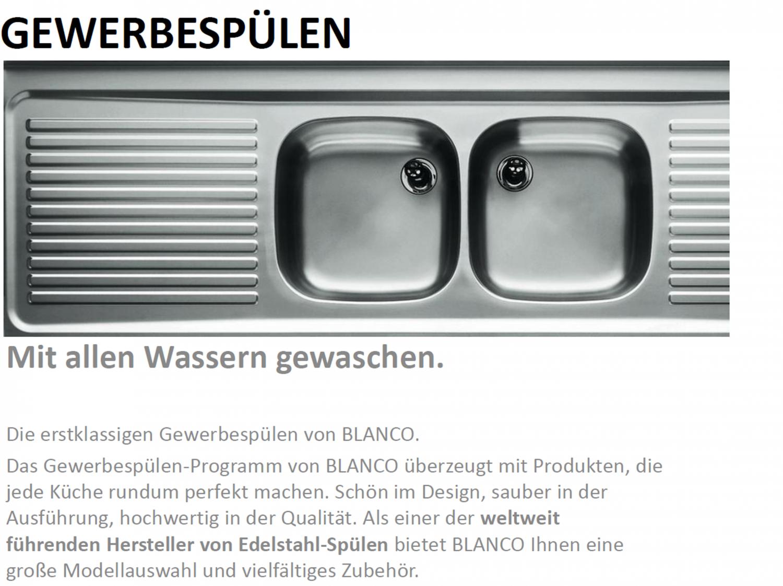 Blanco Spultisch Zs 19x7 Gewerbespule Online Kaufen