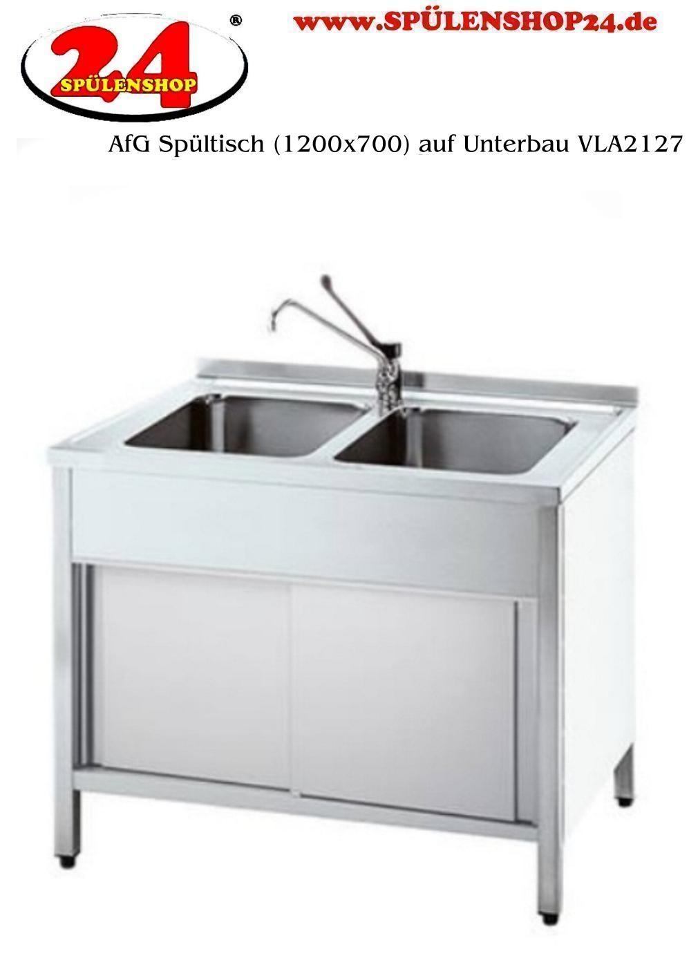 afg sp ltisch mit untergestell vla2127 markenprodukt der firma afg berlin gewerbesp le. Black Bedroom Furniture Sets. Home Design Ideas