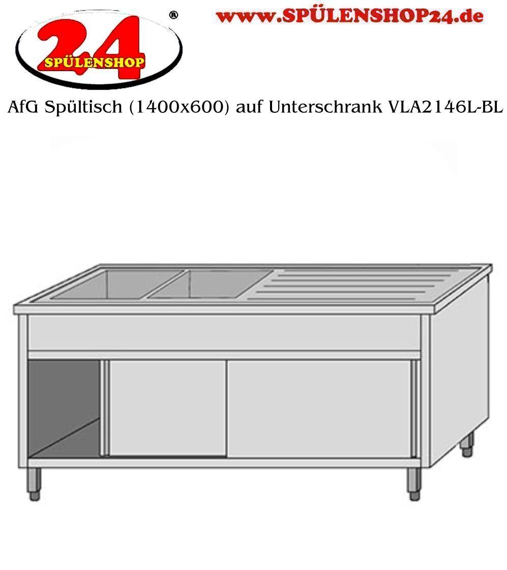 Neu AfG Spültisch mit Untergestell VLA2146L Markenprodukt der Firma  WS49