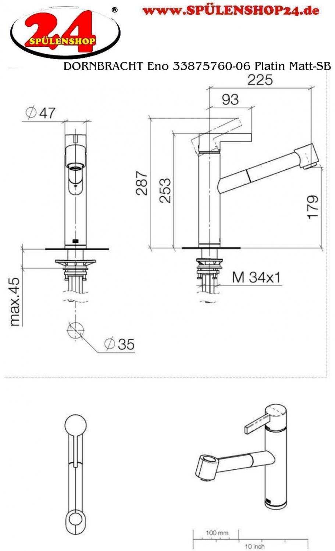 dornbracht eno 33875760 06 sb jetzt kaufen sp lenshop24. Black Bedroom Furniture Sets. Home Design Ideas