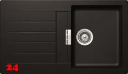 SCHOCK Küchenspüle Signus D-100 Cristadur® Nano-Granitspüle / Einbauspüle in 8 Farben mit Drehexcenter