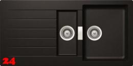 SCHOCK Küchenspüle Signus D-150 Cristadur® Nano-Granitspüle / Einbauspüle in 8 Farben mit Drehexcenter