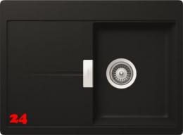 SCHOCK Küchenspüle Horizont D 100S Cristadur® Nano-Granitspüle / Einbauspüle in 8 Farben mit Drehexcenter