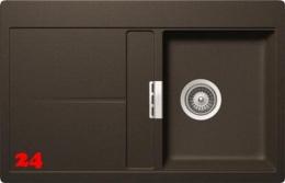 SCHOCK Küchenspüle Horizont D 100 Cristadur® Nano-Granitspüle / Einbauspüle in 8 Farben mit Drehexcenter