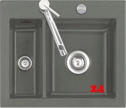 Systemceram KeraDomo MERA 60 Premium Keramikspüle / Einbauspüle in Sonderfarben für die Küche