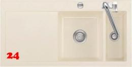 Systemceram KeraDomo MERA 100 Premium Keramikspüle / Einbauspüle in Sonderfarben für die Küche