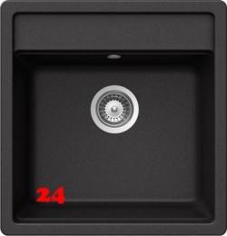 SCHOCK Küchenspüle Nemo N-100S Cristalite® Granitspüle / Einbauspüle Basic Line in 4 Farben mit Drehexcenter