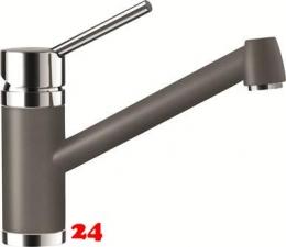 SCHOCK Küchenarmatur Pila Cristadur® Classic Line Einhebelmischer Festauslauf 360° schwenkbarer Auslauf in 8 Farben