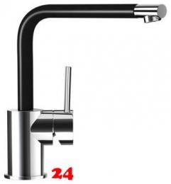 SCHOCK Küchenarmatur Nimbus Cristadur® Classic Line Einhebelmischer Festauslauf 360° schwenkbarer Auslauf in 8 Farben
