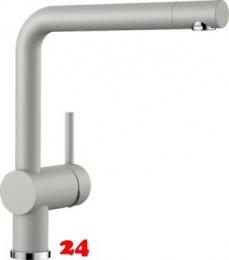 BLANCO Küchenarmatur Linus Silgranit®-Look Einhebelmischer mit Festauslauf 360° schwenkbarer Auslauf in 9 Farben