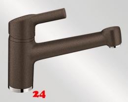 {Lager} BLANCO Küchenarmatur Elipso-II-Silgranit®-Look Festauslauf Auslaufmodell Farbe Cafe