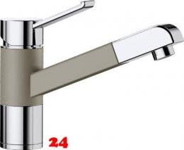 BLANCO Küchenarmatur Zenos-S Silgranit®-Look Einhebelmischer mit Zugauslauf 140° schwenkbarer Auslauf in 9 Farben