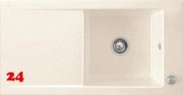 Villeroy & Boch TIMELINE 60-Classicline Einbauspüle / Keramikspüle in 9 Standard Farben