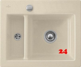 Villeroy & Boch SUBWAY 60 XM-Premiumline Einbauspüle / Keramikspüle in 4 Sonder Farben