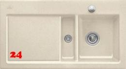 Villeroy & Boch SUBWAY 50-BR-Premiumline Einbauspüle / Keramikspüle in 4 Sonder Farben