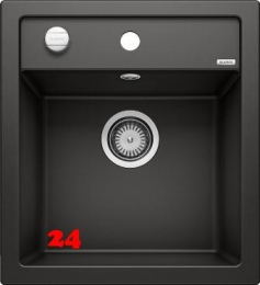 BLANCO Küchenspüle Dalago 45 Silgranit® PuraDur®II Granitspüle / Einbauspüle mit Drehknopfventil in 9 Farben