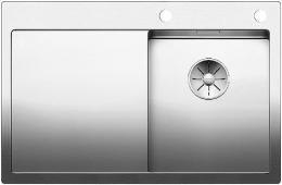 BLANCO Küchenspüle Claron 4 S-IF Edelstahlspüle / Einbauspüle Flachrand mit Ablaufsystem InFino und PushControl