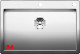 BLANCO Küchenspüle Claron 700-IF/A Edelstahlspüle / Einbauspüle Flachrand mit Ablaufsystem InFino und PushControl