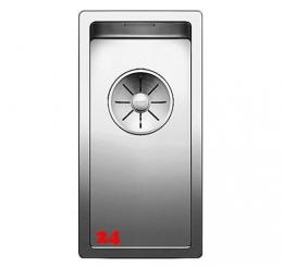 BLANCO Küchenspüle Claron 180-IF Edelstahlspüle / Einbauspüle Flachrand mit Ablaufsystem InFino und Handbetätigung