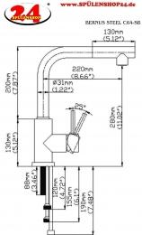 BERNUS Steel C64-SB