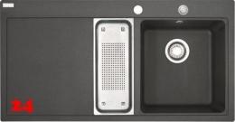 FRANKE Küchenspüle Mythos MTG 651-100 Fragranit+ Einbauspüle / Granitspüle mit Druckknopfventil