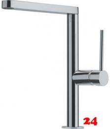 FRANKE Küchenarmatur Lounge Einhebelmischer Edelstahl Optik mit Festauslauf