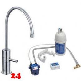 FRANKE Küchenarmatur Wellfresh 150 Festauslauf Standventil / Zusatzarmatur mit Brita-Filterset