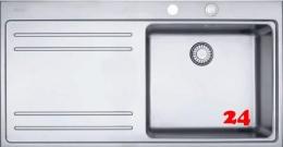 FRANKE Küchenspüle Mythos MTX 211 Einbauspüle Slimtop / Flächenbündig mit Druckknopfventil