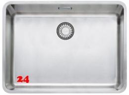 FRANKE Küchenspüle Kubus KBX 110-55-UB  Unterbauspüle mit Druckknopfventil