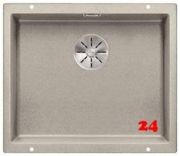 BLANCO Subline 500-U Silgranit® PuraDur®II Granitspüle / Unterbaubecken Ablaufsystem InFino mit Handbetätigung